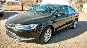 2016 Chrysler 200 for sale at AUGE'S SALES AND SERVICE in Belen NM