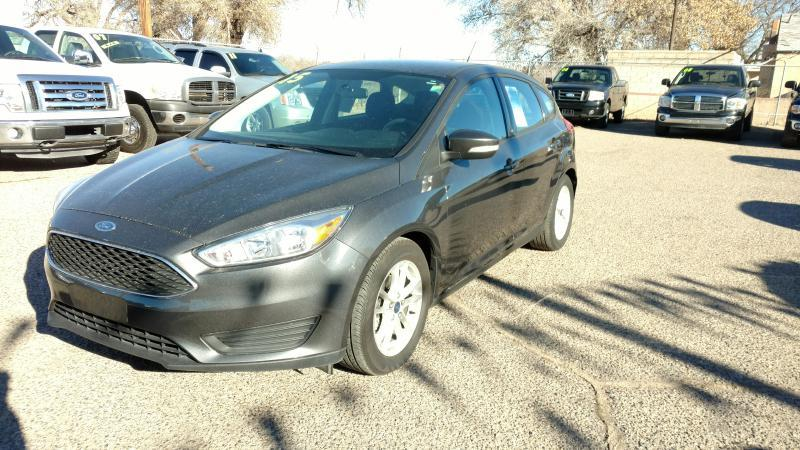 2015 Ford Focus for sale at AUGE'S SALES AND SERVICE in Belen NM