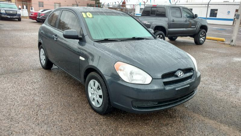 2010 Hyundai Accent for sale at AUGE'S SALES AND SERVICE in Belen NM