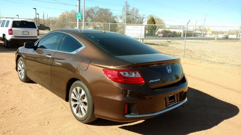 2014 Honda Accord for sale at AUGE'S SALES AND SERVICE in Belen NM