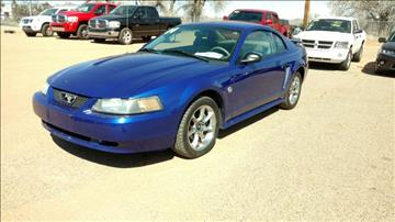2004 Ford Mustang for sale at AUGE'S SALES AND SERVICE in Belen NM