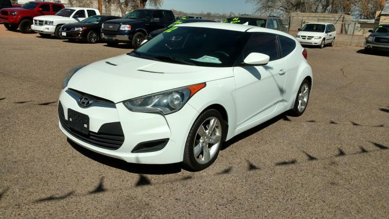 2012 Hyundai Veloster for sale at AUGE'S SALES AND SERVICE in Belen NM