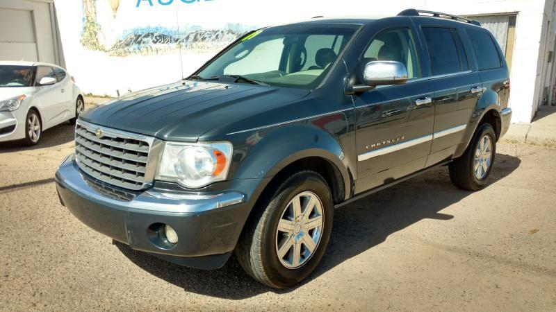 2009 Chrysler Aspen for sale at AUGE'S SALES AND SERVICE in Belen NM