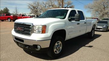 2011 GMC Sierra 2500HD for sale at AUGE'S SALES AND SERVICE in Belen NM