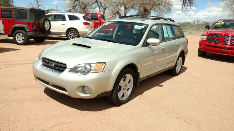 2005 Subaru Outback for sale at AUGE'S SALES AND SERVICE in Belen NM