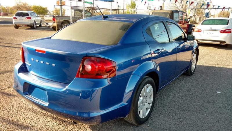 2013 Dodge Avenger for sale at AUGE'S SALES AND SERVICE in Belen NM