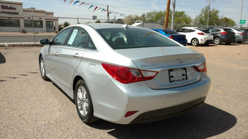 2014 Hyundai Sonata for sale at AUGE'S SALES AND SERVICE in Belen NM