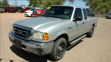 2004 Ford Ranger for sale at AUGE'S SALES AND SERVICE in Belen NM