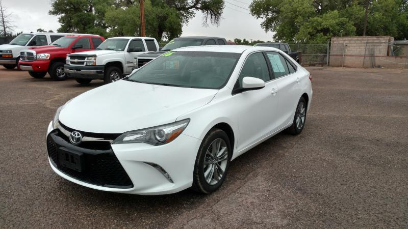 2016 Toyota Camry for sale at AUGE'S SALES AND SERVICE in Belen NM