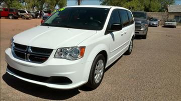 2014 Dodge Grand Caravan for sale at AUGE'S SALES AND SERVICE in Belen NM