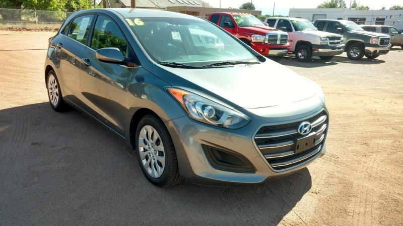 2016 Hyundai Elantra GT for sale at AUGE'S SALES AND SERVICE in Belen NM