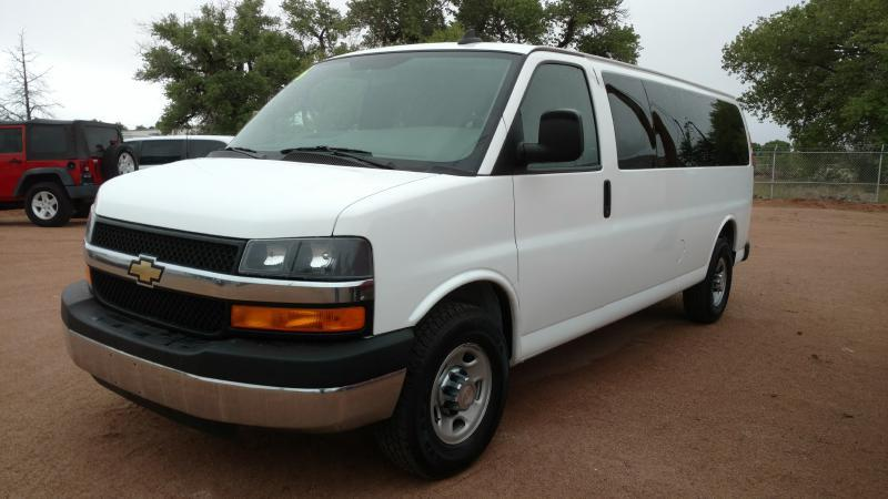 2016 Chevrolet Express Passenger for sale at AUGE'S SALES AND SERVICE in Belen NM