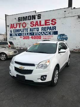 2010 Chevrolet Equinox for sale at Simon's Auto Sales in Detroit MI