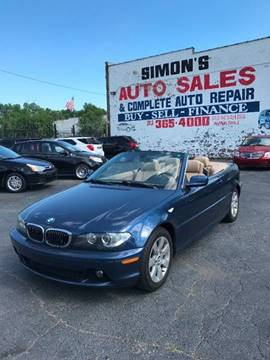 2006 BMW 3 Series for sale at Simon's Auto Sales in Detroit MI