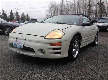 2004 Mitsubishi Eclipse Spyder for sale in Bothell, WA