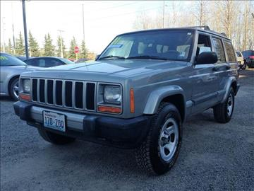 2001 Jeep Cherokee for sale in Bothell, WA