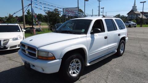 2002 Dodge Durango for sale at Minden Autoplex in Minden LA