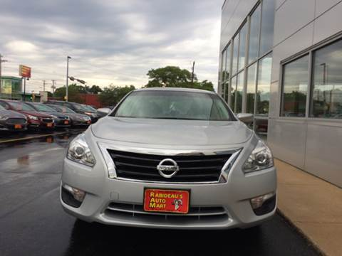 2015 Nissan Altima for sale at RABIDEAU'S AUTO MART in Green Bay WI