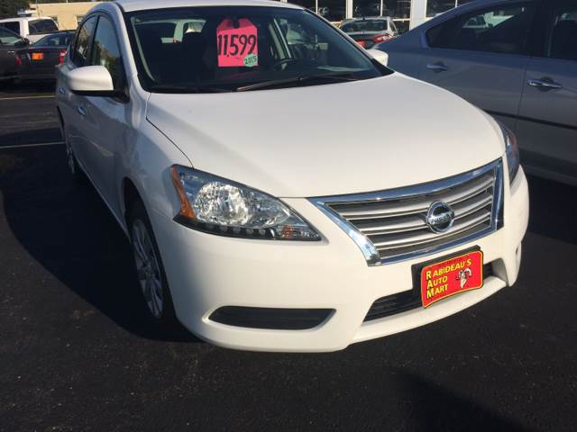 2015 Nissan Sentra for sale at RABIDEAU'S AUTO MART in Green Bay WI