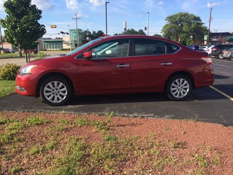 2014 Nissan Sentra for sale at RABIDEAU'S AUTO MART in Green Bay WI