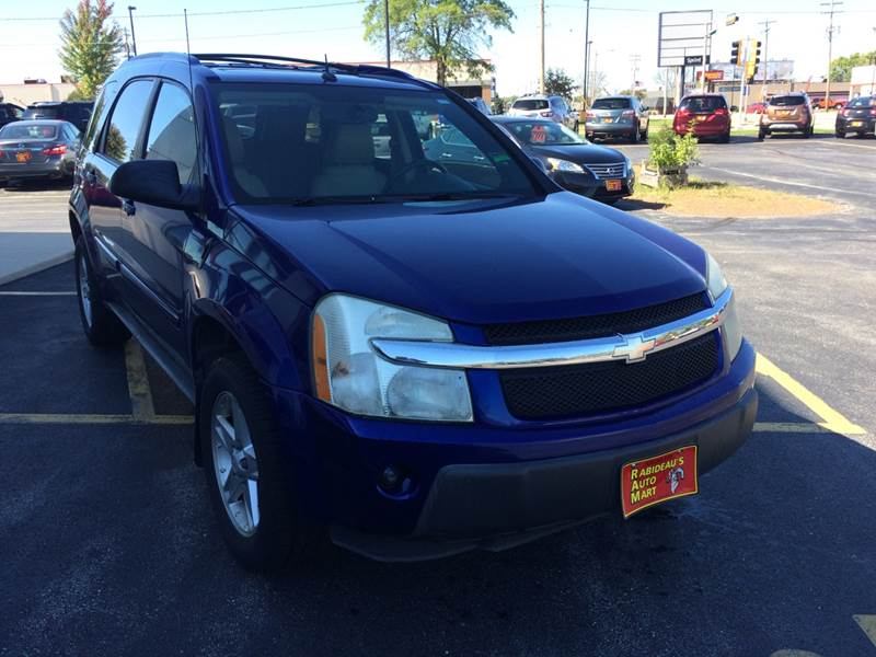 2005 Chevrolet Equinox For Sale At RABIDEAUu0027S AUTO MART In Green Bay WI