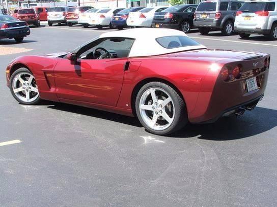 2006 Chevrolet Corvette for sale at RABIDEAU'S AUTO MART in Green Bay WI