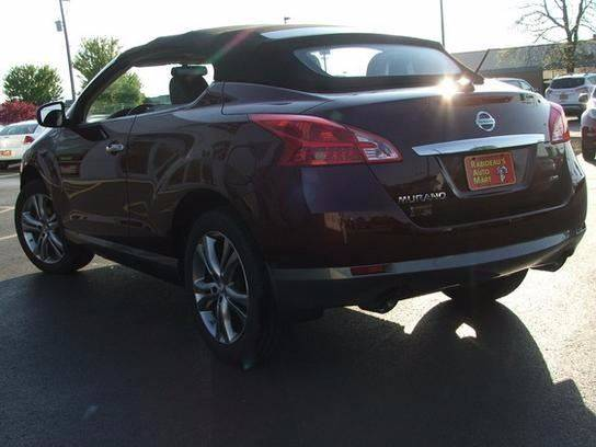 2011 Nissan Murano CrossCabriolet for sale at RABIDEAU'S AUTO MART in Green Bay WI