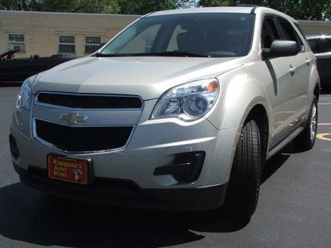 2014 Chevrolet Equinox for sale at RABIDEAU'S AUTO MART in Green Bay WI