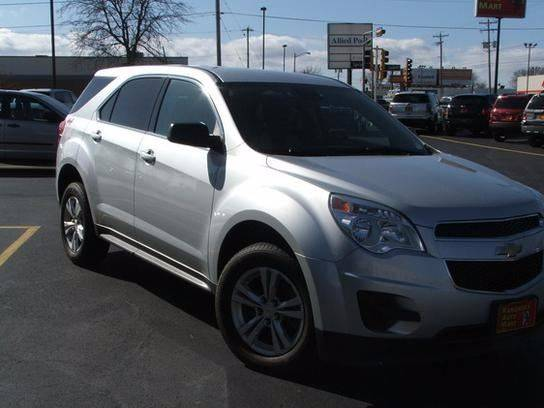 2013 Chevrolet Equinox for sale at RABIDEAU'S AUTO MART in Green Bay WI