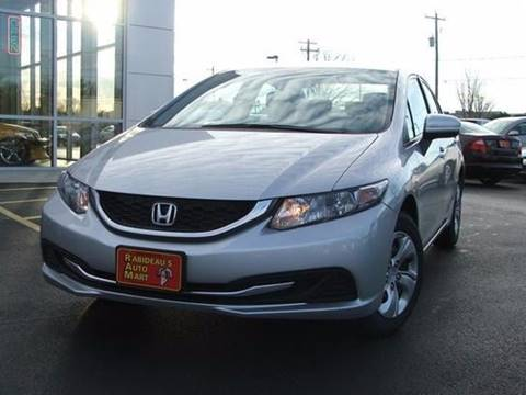 2014 Honda Civic for sale at RABIDEAU'S AUTO MART in Green Bay WI