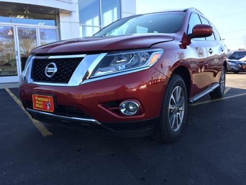 2015 Nissan Pathfinder for sale at RABIDEAU'S AUTO MART in Green Bay WI