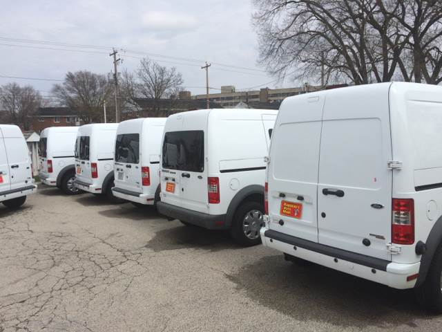 2010 Ford Transit Connect for sale at RABIDEAU'S AUTO MART in Green Bay WI