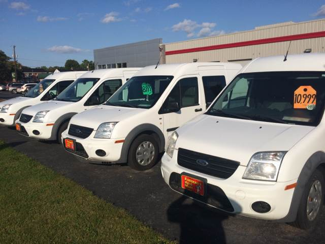 2013 Ford Transit Connect for sale at RABIDEAU'S AUTO MART in Green Bay WI