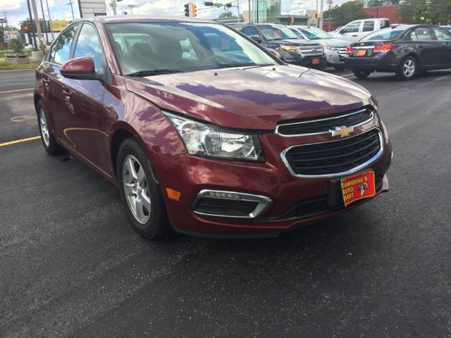 2016 Chevrolet Cruze Limited for sale at RABIDEAU'S AUTO MART in Green Bay WI