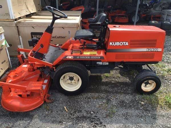 1998 Kubota F2400 F2400 - Iron Station NC