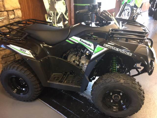 2017 Kawasaki BRUTE FORCE 300 ATV - Iron Station NC