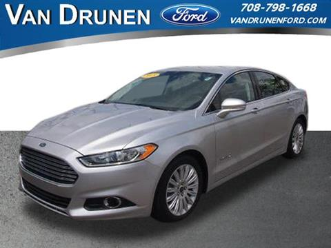 2015 Ford Fusion Hybrid for sale in Homewood, IL