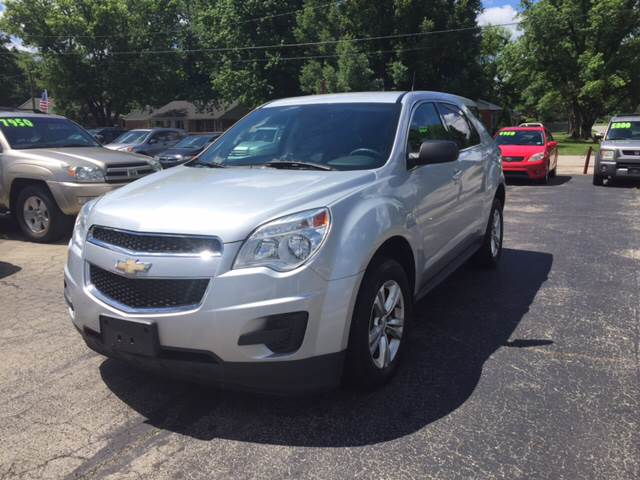 2012 Chevrolet Equinox for sale at Neals Auto Sales in Louisville KY