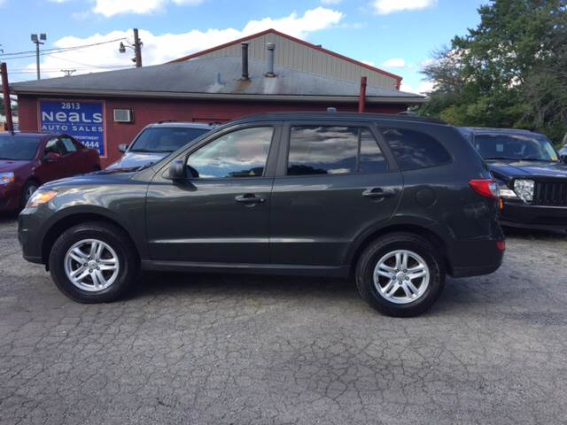 2010 Hyundai Santa Fe for sale at Neals Auto Sales in Louisville KY