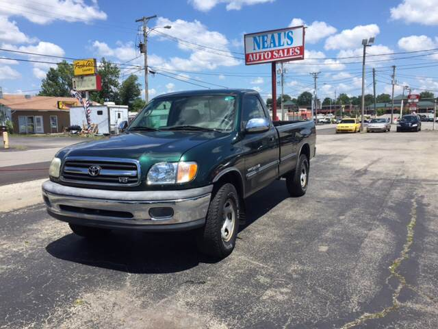 2002 Toyota Tundra for sale at Neals Auto Sales in Louisville KY