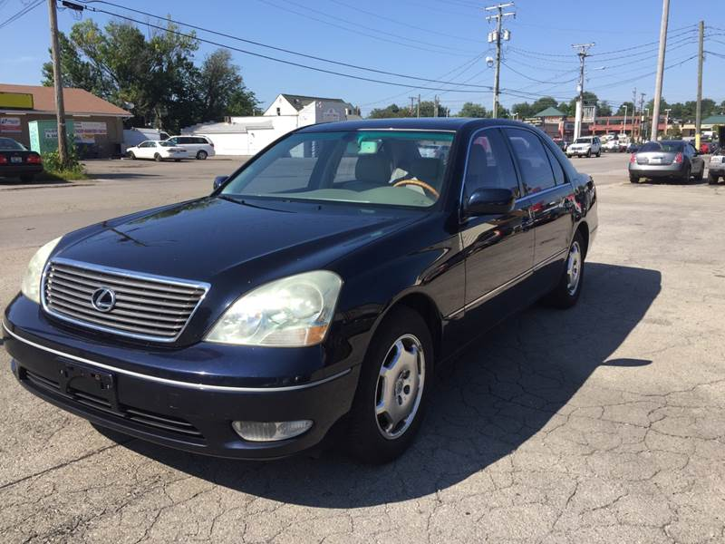 2002 Lexus LS 430 For Sale At Neals Auto Sales In Louisville KY
