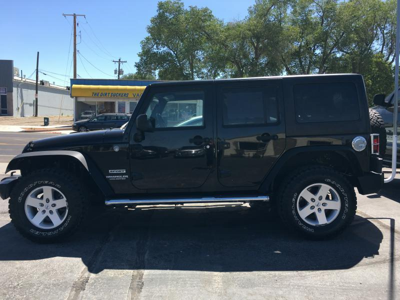 2011 Jeep Wrangler Unlimited for sale at Belcastro Motors in Grand Junction CO