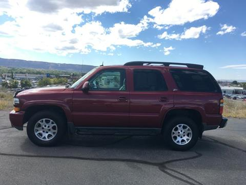 2004 Chevrolet Tahoe for sale at Belcastro Motors in Grand Junction CO