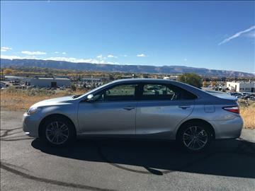 2016 Toyota Camry for sale at Belcastro Motors in Grand Junction CO