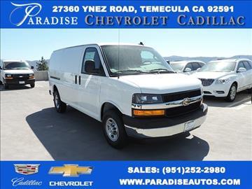 Paradise Chevrolet Temecula >> Cargo Vans For Sale Temecula, CA - Carsforsale.com