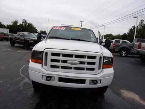 2007 Ford F-250 Super Duty for sale at Rock 'n Roll Auto Sales in West Columbia SC