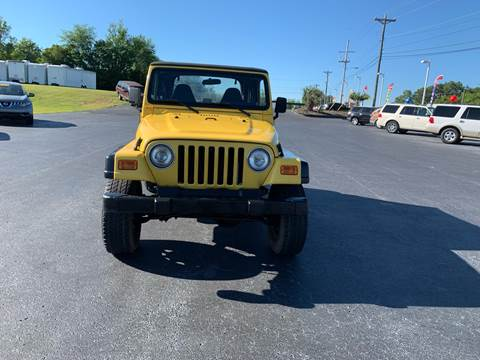 2001 Jeep Wrangler for sale in West Columbia, SC