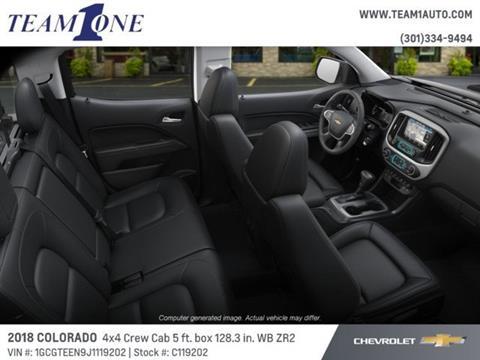 2018 Chevrolet Colorado for sale in Oakland, MD