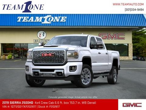 2019 GMC Sierra 2500HD for sale in Oakland, MD