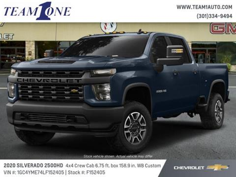2020 Chevrolet Silverado 2500HD for sale in Oakland, MD